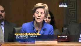 Elizabeth Warren tells us what she really thinks of Keystone XL