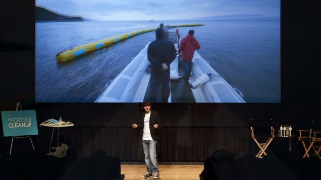 How We Showed the Oceans Could Clean Themselves – Boyan Slat on The Ocean Cleanup