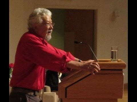 """Time is Running Out: Ecology or Economics?"" – David Suzuki – May 6, 2013"