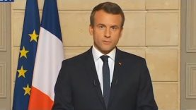 Speech of the French President Emmanuel Macron in english – Reaction to Donald Trump