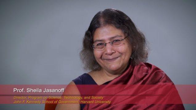 Harvard Speaks on Climate Change: Sheila Jasanoff