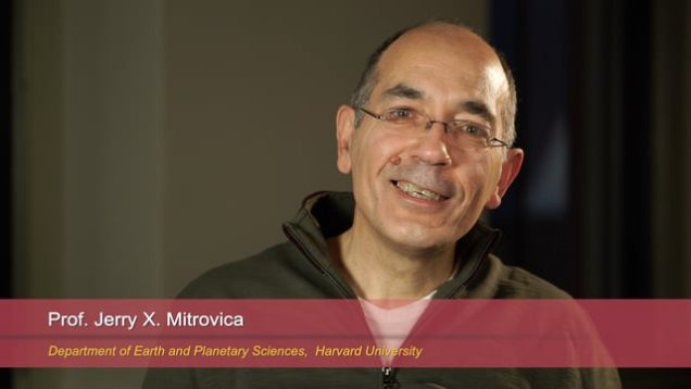 Harvard Speaks on Climate Change: Jerry X. Mitrovica