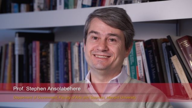 Harvard Speaks on Climate Change: Stephen Ansolabehere