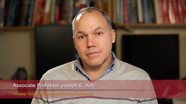 Harvard Speaks on Climate Change: Joseph Aldy