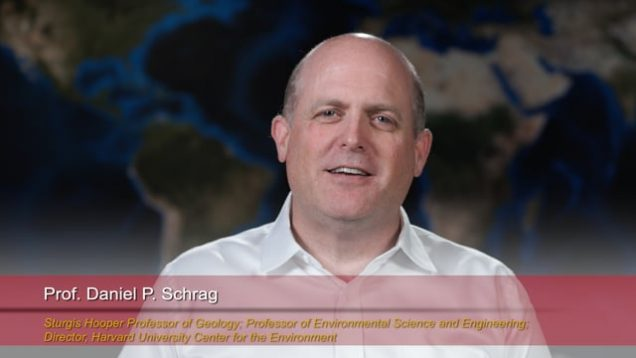 "Harvard Speaks on Climate Change.  Dan Schrag: ""Clues to Climate Sensitivity from Past Climate"""