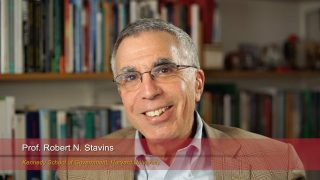 "Harvard Speaks on Climate Change.  Robert Stavins: ""Using Economics to Address Climate Change"""