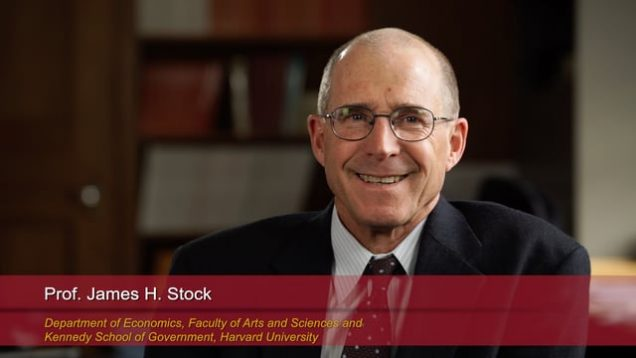 "Harvard Speaks on Climate Change. James Stock: ""Economic Policies for Carbon Reduction"""