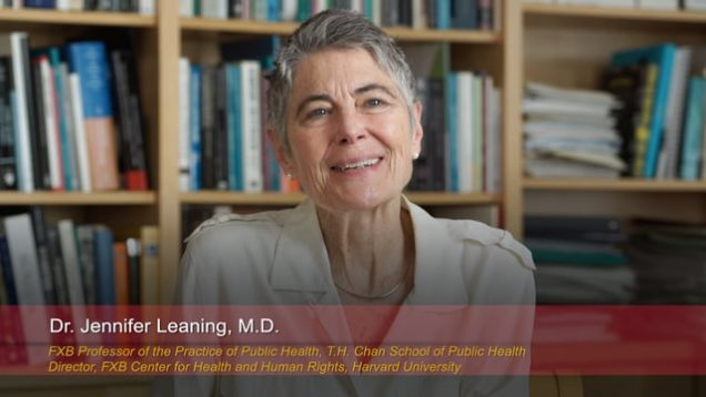 Harvard Speaks on Climate Change: Jennifer Leaning
