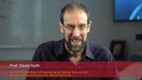 Harvard Speaks on Climate Change: David Keith