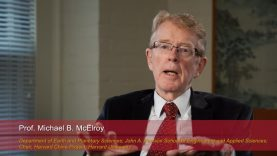 Harvard Speaks on Climate Change: Michael McElroy