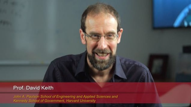 Harvard Speaks on Climate Change: David Keith