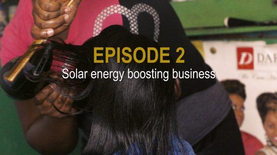 Sunshine Stories. Episode 2 Solar boosting business