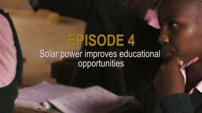 Sunshine Stories. Episode 4 Solar power improves educational opportunities