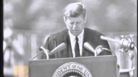 John F. Kennedy's greatest Speech on Peace