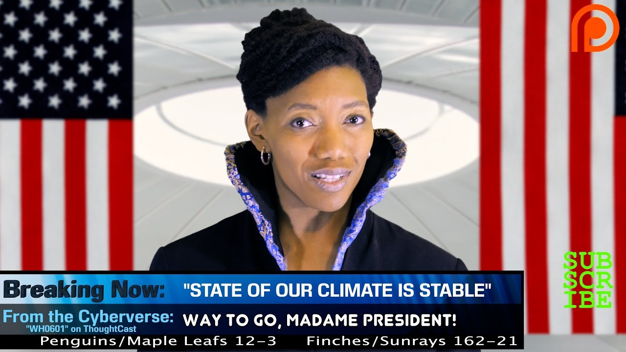 Future President Gives State of the Climate Address
