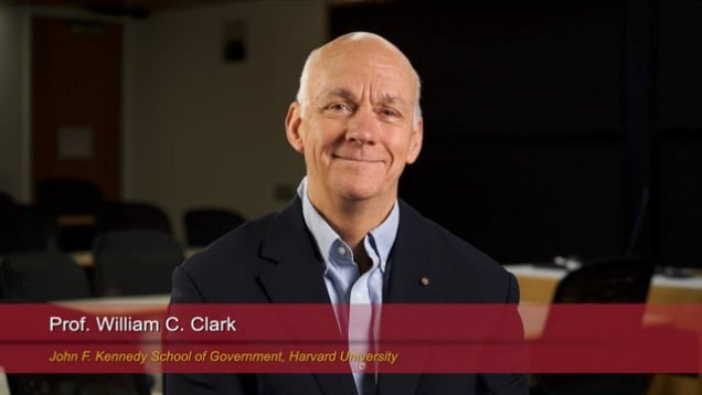 Harvard Speaks on Climate Change: William C. Clark
