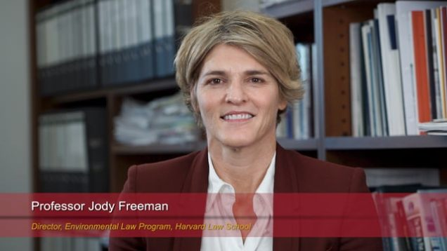 Harvard Speaks on Climate Change: Jody Freeman