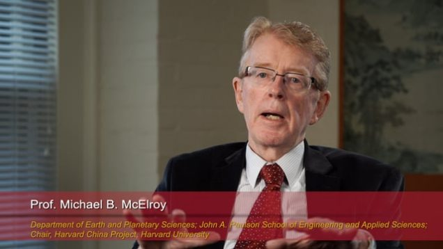 Harvard Speaks on Climate Change: Michael McElroy