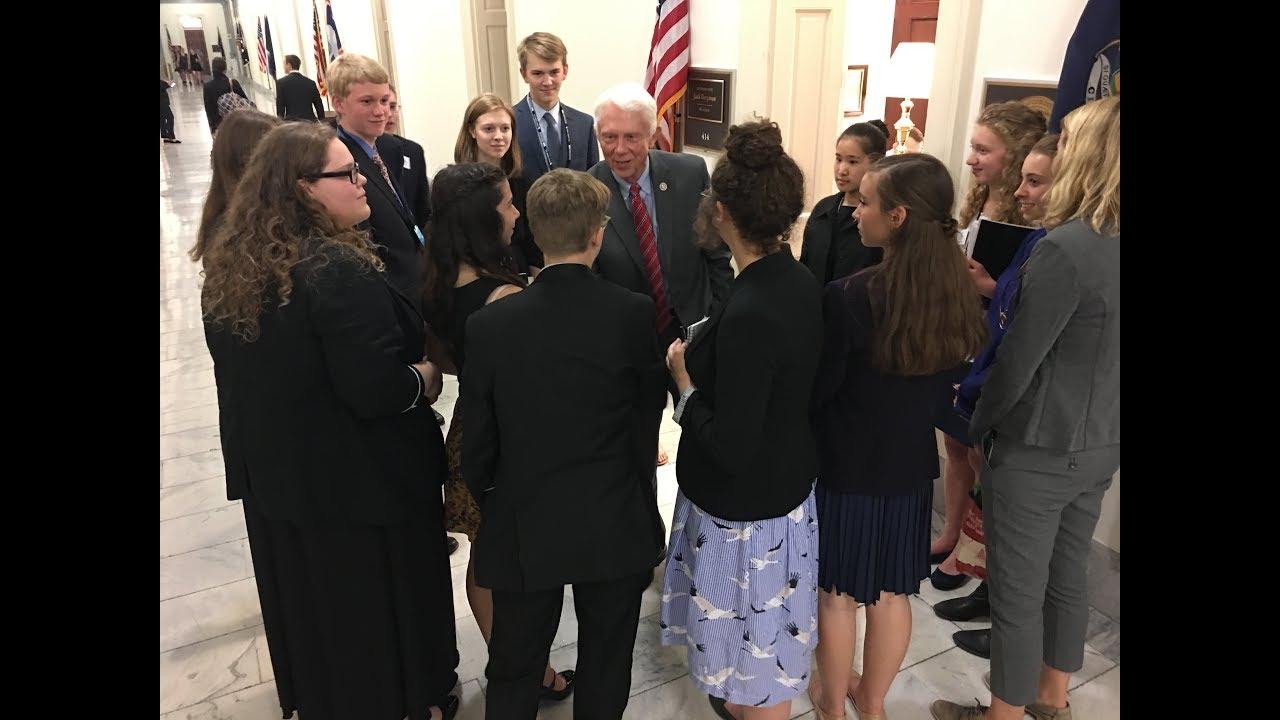 High School Environmentalists Persuade Republican Congressman